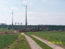 Windfeld bei Schönfeld - Bild: A.M.