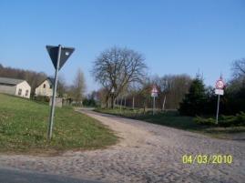 Von Kreisstraße zur Gemeindestraße abgestuft... (Bild Archiv)