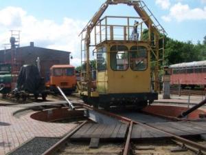 Eisenbahnmuseeum Gramzow, Foto A.M.