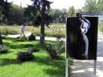 Kunst im Stettiner Rosengarten (Foto: A. Schwarze)