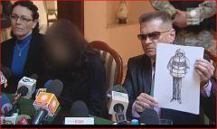 Auf der Anklagebank - die Mutter der 6 Monate alten, getöteten Magda...