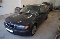 Den BMW des Karat-Sängers Claudius Dreilich stellten Bundespolizisten im Fährhafen Mukran sicher. Foto Bundespolizei