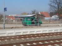 Bundespolizei am Bahnhof Tantow (Foto www.gemeinde-tantow.de)