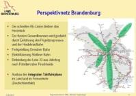 Bild: Fortschreibung Landesnahverkehrsplan 2013 - 2017 Brandenburg (Vortrag Minister Vogelsänger)