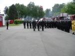 Vereidigung der Kameraden der Staatlichen Feuerwehr