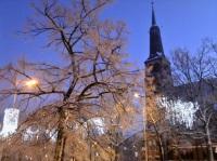 Lichterglanz: Stettin zeigt sich dieser Tage winterlich (©ASC)
