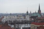 Schloß Stettin von der Aussichtsplattform des Nationalmuseums (Bild A.M.)
