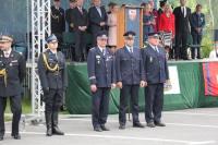 Die 3 deutschen Kameraden, welche die Auszeichnung vorgenommen haben. (Foto privat)