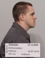Foto des Täters von der Polizei Genf
