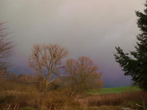 Besser Türen & Fenster fest verschließen: Donner, Blitz und der nächste Orkan im Anmarsch auf Tantow (©ASC)