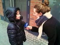 Kamila Pikula (10) aus Tantow im Interview (Foto: ASC)