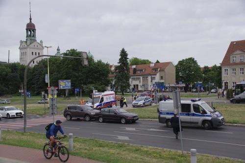 Auffahrunfall auf der Autostrada 115. Foto: Andreas Schwarze/Polen.pl