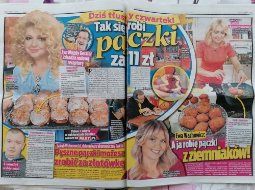 """Die """"FAKT"""" (polnische BILD) liefert Rezepte. Foto: asc"""